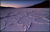 Sunset at Badwater - Death Valley