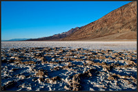 Salt Cakes at Badwater